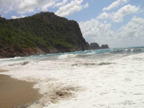 пляж кейкубат в аланье